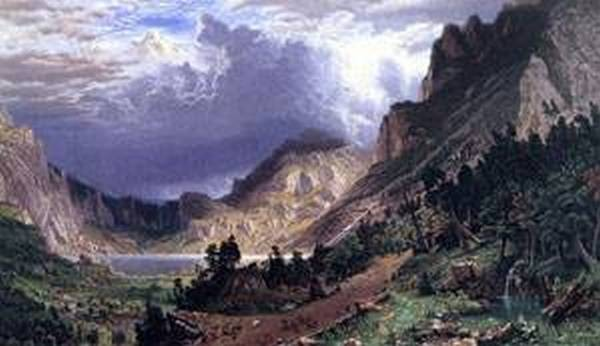 new big Storm in the Rocky Mountains Mr Rosalie 1869